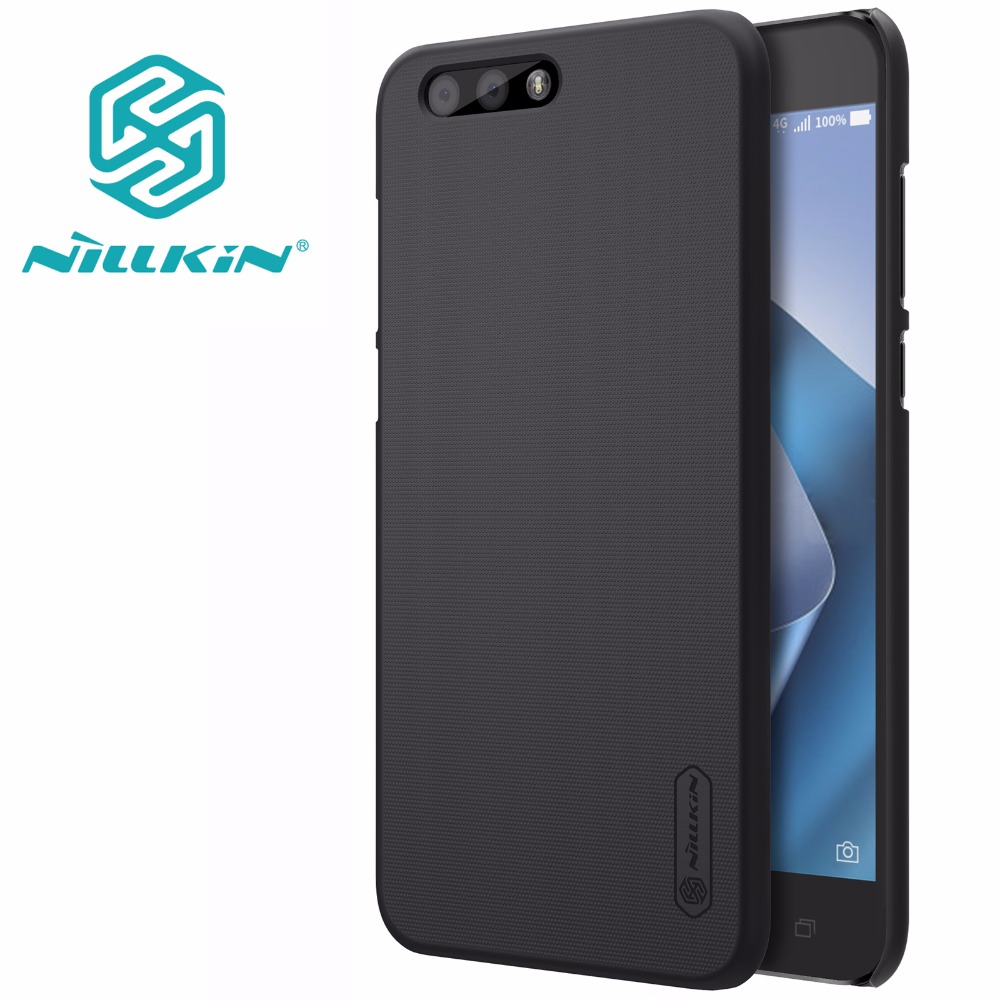 Asus Zenfone 4 ZE554KL case Zenfone 4 ZE554KL cover NILLKIN Super Frosted Shield matte hard back cover +free screen protector