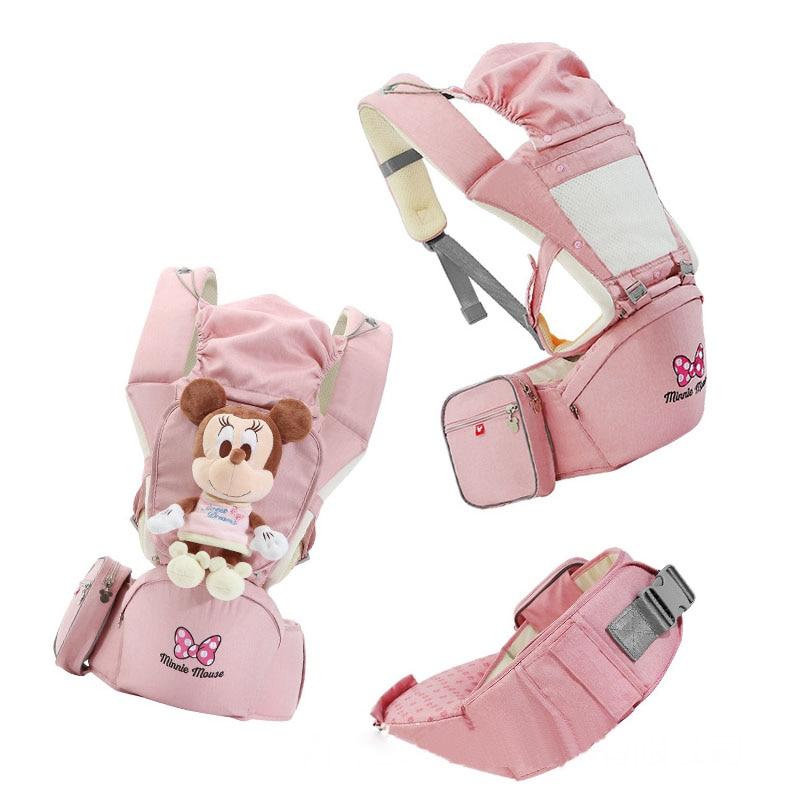 Disney Front Facing Baby Carrier 360 Comfortable Sling Backpack Newborn Waist hipsit Pouch Wrap Gear Kangaroo Carrying Child
