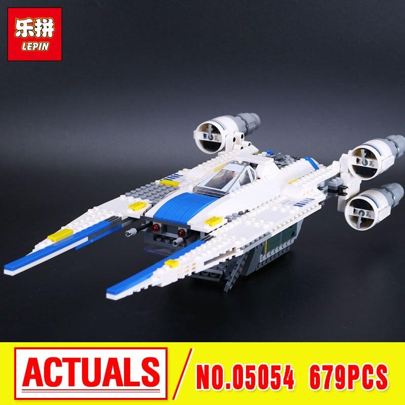 New 679pcs Lepin 05054 Genuine Star Series The  U- Fighter Wing Set Building Blocks Bricks  Toys 75155 War  wars