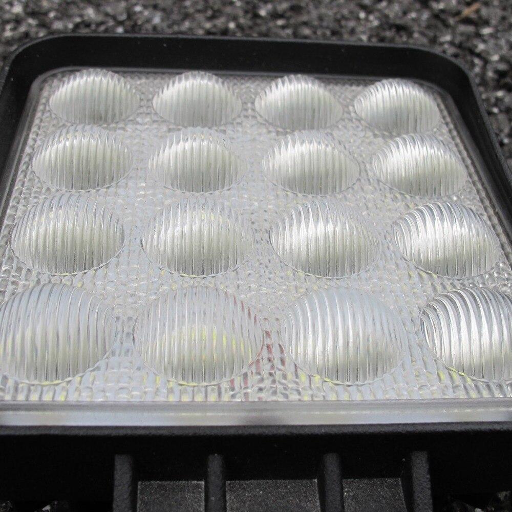 Image 2 - 5D Lens 4.5 Inch Square Led Work Driving Light For 12v 24v Trucks 4x4 off road ATV UTV 4WD Offroad Fog Lamp Trailer farm vehicle-in Light Bar/Work Light from Automobiles & Motorcycles