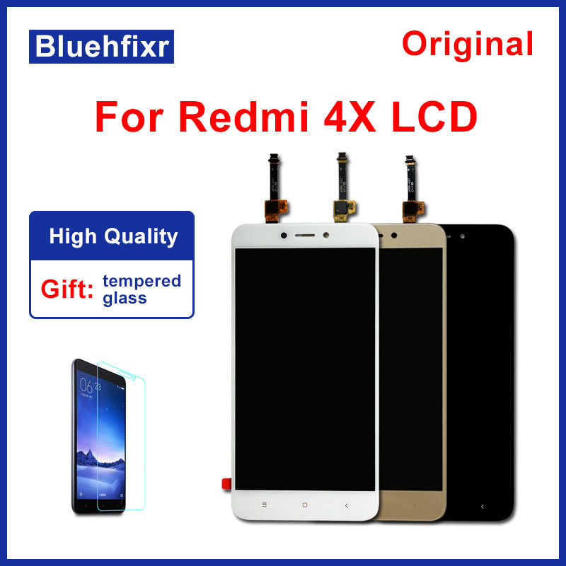 Original for Xiaomi Redmi 4X LCD Display Touch Screen Test Good Digitizer Assembly Replacement For Xiaomi Redmi 4X Pro 5.0 inchOriginal for Xiaomi Redmi 4X LCD Display Touch Screen Test Good Digitizer Assembly Replacement For Xiaomi Redmi 4X Pro 5.0 inch