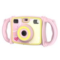 Children HD Mini Digital Camera Dual Lens Shockproof Handles Gift Video Photography NK Shopping