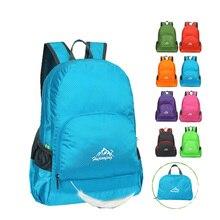 Portable Folding Backpack Unisex Outdoor Sport Bag Ultralight Waterproof Camping Hiking Travel Foldable Backpacks