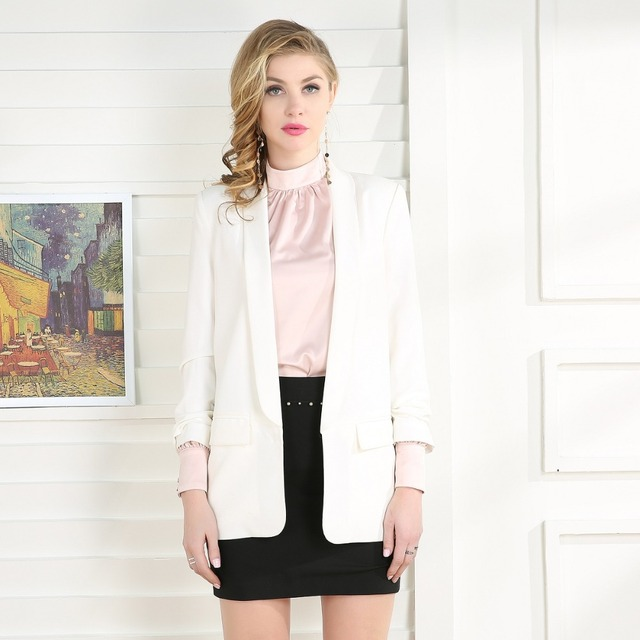 2018 Fashion Office Lady Suit Blazer Jacket