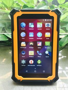 China Original T71V3 Rugged Tablet Mini PC IP67 Waterproof Android 5.1 OS Outdoor Computer 3GB RAM 13MP UHF LF RFID GPS Sunlight