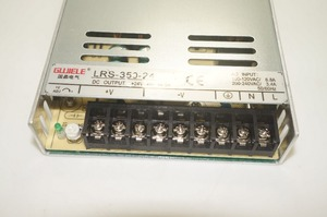 Image 5 - LRS 350 24 single output 350W 24V 14.6A  switching power supply Energy efficient