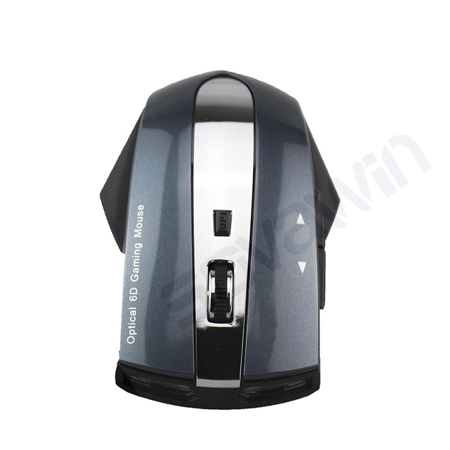 Rechargeable 2.4ghz 1600 DPI Optical Mini Car Gaming Mice