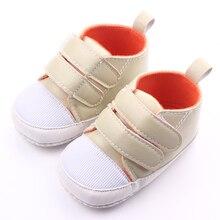 Новое Прибытие Двойной Крюк и Петля Мягкая Кожа Первые Prewalker Baby Boy Повседневная Обувь 0-12 Месяцев
