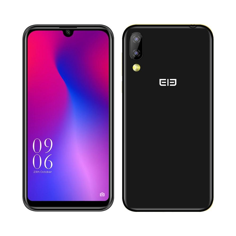Elephone A6 Mini 5.71 Inch waterdrop Screen Mobile Phone Android 9.0 MT6761 Quad Core HD+ 4GB+32GB 16MP 3180mah 4G Smartphone