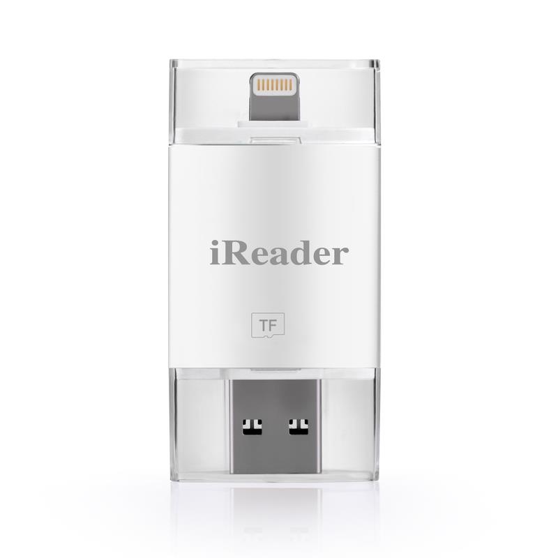 i Flash USB SDHC Micro SD OTG Card Reader for Android iPhone 5 6 6 Plus