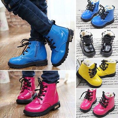 más cerca de nuevo estilo y lujo siempre popular Nueva caliente bebé niños niñas niños invierno Martin botas ...