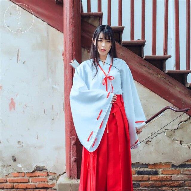 Аниме косплей кимоно Инуяша