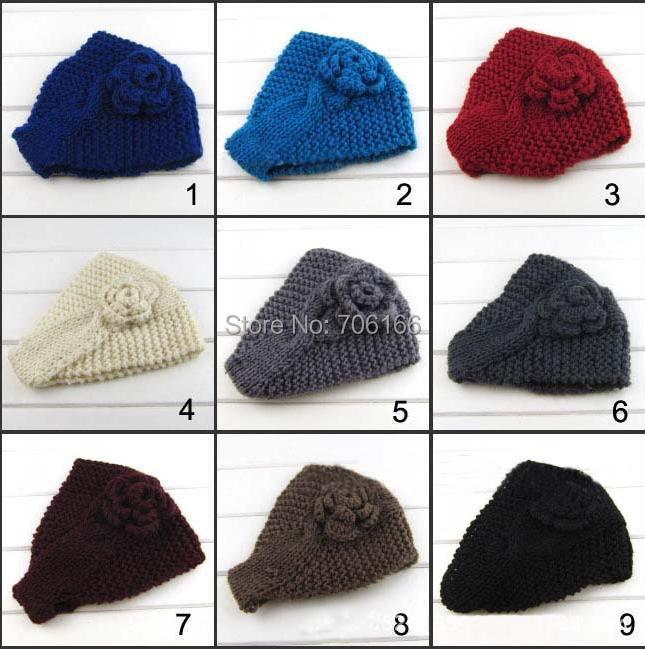 Nuevos hechos a mano llegada knit diademas, Crochet hairbands de la ...