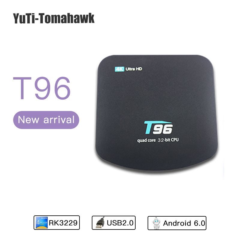 New High-definition WiFi Set-top Box Player 4K* 2K Android 7.1 Internet TV Box 1G/8G Quad-core 4K 100M LAN KODI 16.1/17.5