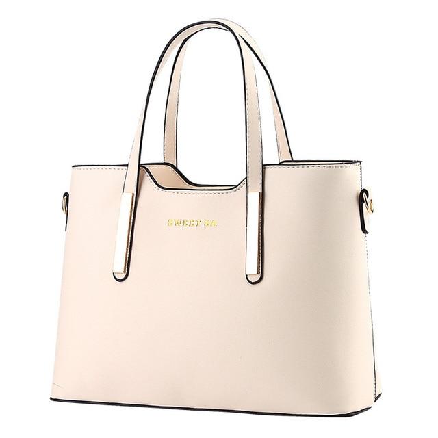 90acf99cd4 2015 New Fashion Leather Bag Ladies Tote Shoulder Bag Handbags Women Famous  Brands Formal Bag
