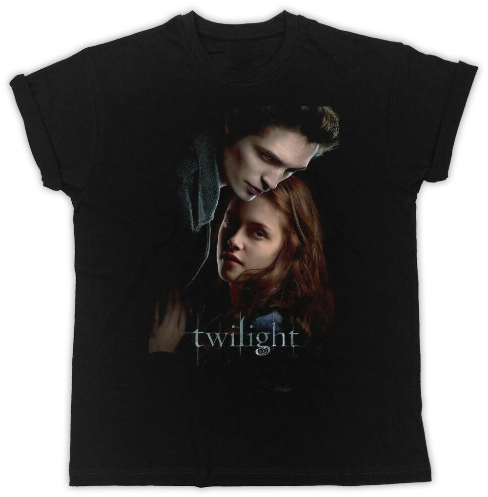 Cool Twilight Unisex Ideal Gift Present Black T Shirt New 2019 Summer Style T-Shirt Print Tee Shirt For Male Customize A Shirt