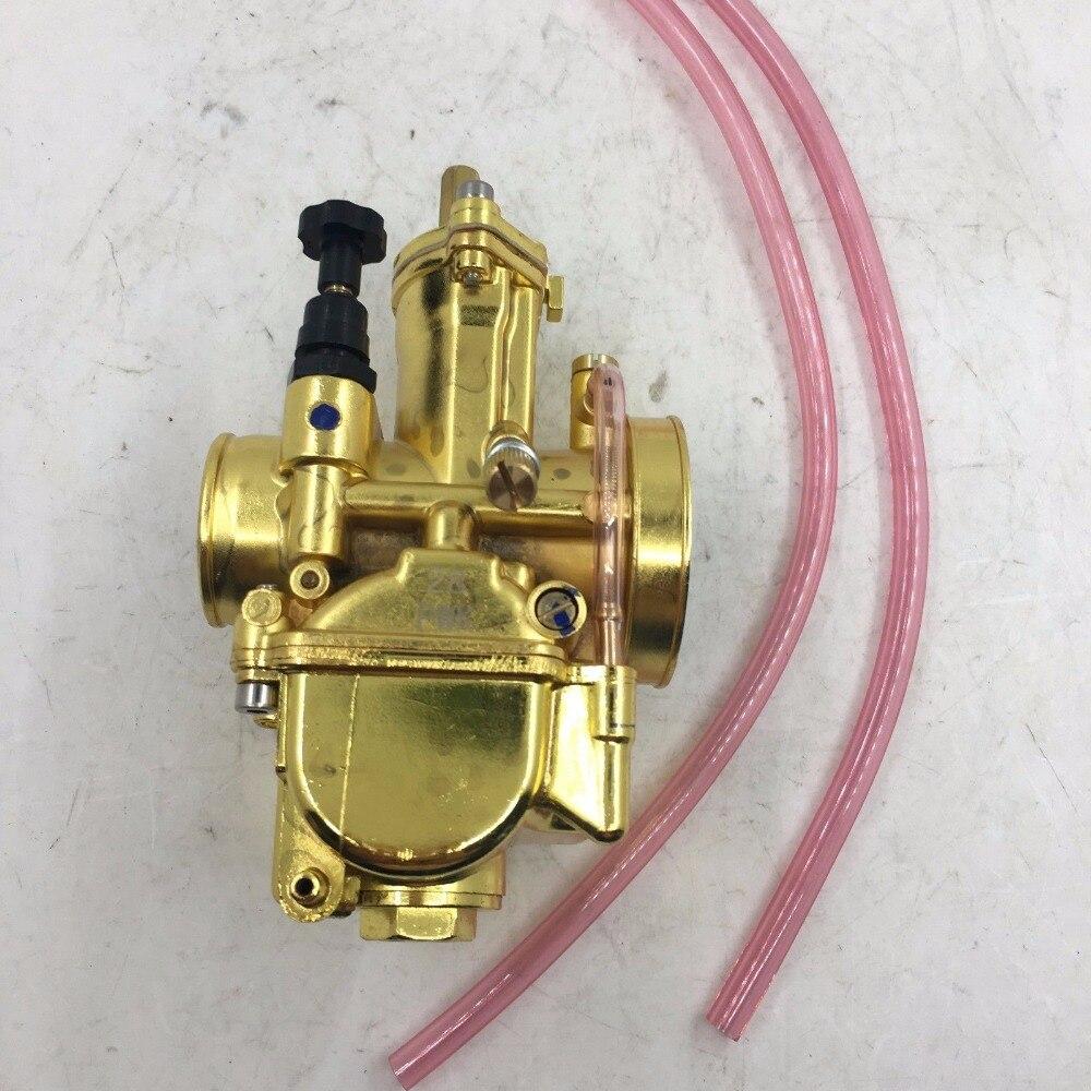 free shipping Golden color 28mm PWK Carburetor 2T for ATV Quads Dinli AEON Apex Polaris carb