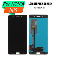 high quality lcd screen for nokia 6 display touch screen assembly for nokia 6 screen lcd digitizer TA 1000 TA 1003