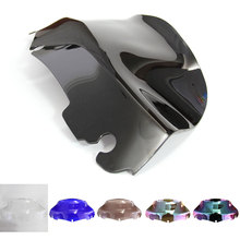 6 Colors Motorcycle Windshield Windscreen For Harley Davidson Street Glide electra Touring FLHT FLHTC 2014-2019