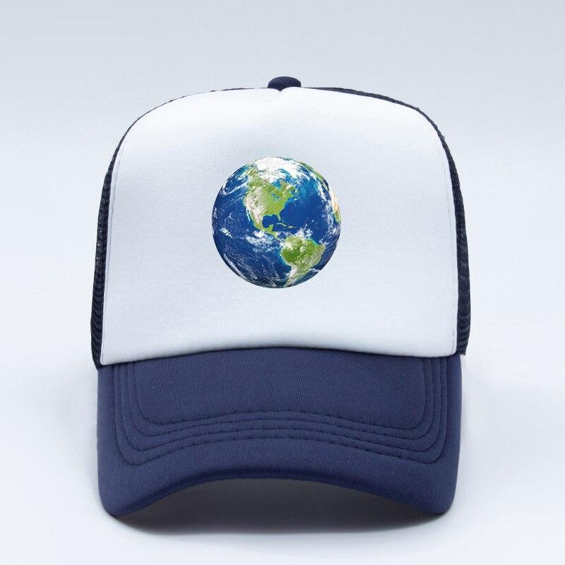 Custom Snapback Hats for Men /& Women International Flag of Earth Embroidery