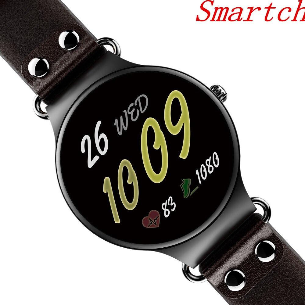 Smartch KW98 montre intelligente Android 5.1 8 GB/512 MB Wifi GPS Bluetooth Smartwatch moniteur de fréquence cardiaque MTK6580 montre Android pour hommes