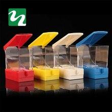 Стоматологические продукты Коробка для хранения стоматолога Хлопка Ролл Диспенсер держатель ящика типа