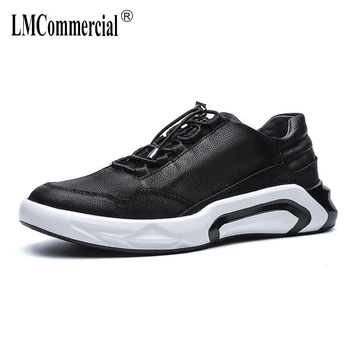 spring autumn summer men's Genuine Leather shoes all-match cowhide male British reto shoes men breathable sneaker casual shoes