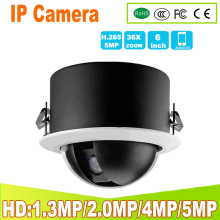 Indoor IP camera PTZ network camera 1.3MP 2MP 4MP 5MP pan/tilt 36x optical zoom night vision HD security embedded PTZ camera