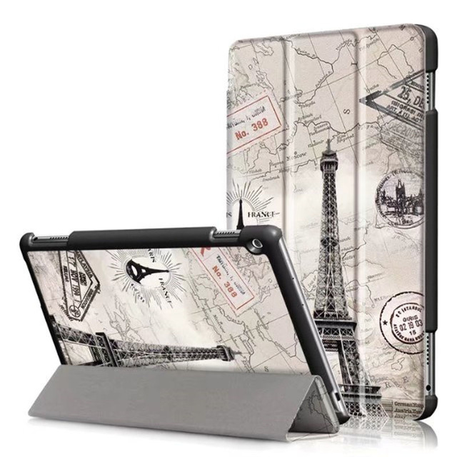 Case For Huawei Mediapad M3 Lite 10 Covers M3 Lite 10 Protective Protector PU Leather Youth Edition BAH-W09 Tablet + Film + Pen