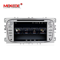 MEKEDE 1024X600 Android 8.1 for ford focus 2,mondeo,car DVD,radio,gps navigation,BT,Wifi,1GB,quad core Russian,english
