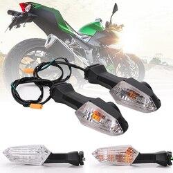 Speedpark motocicleta universal turn signal light led lâmpada indicadora para kawasaki z250 z750 z800 z900 z1000 ninja250 z750r