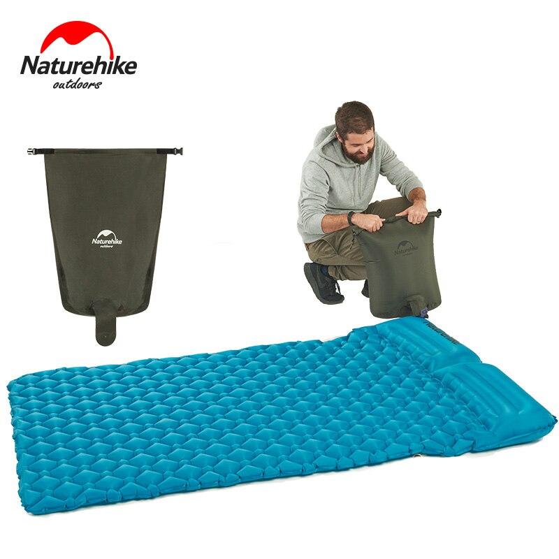 Rápido com Travesseiro Inovador Naturehike Colchão Super Leve