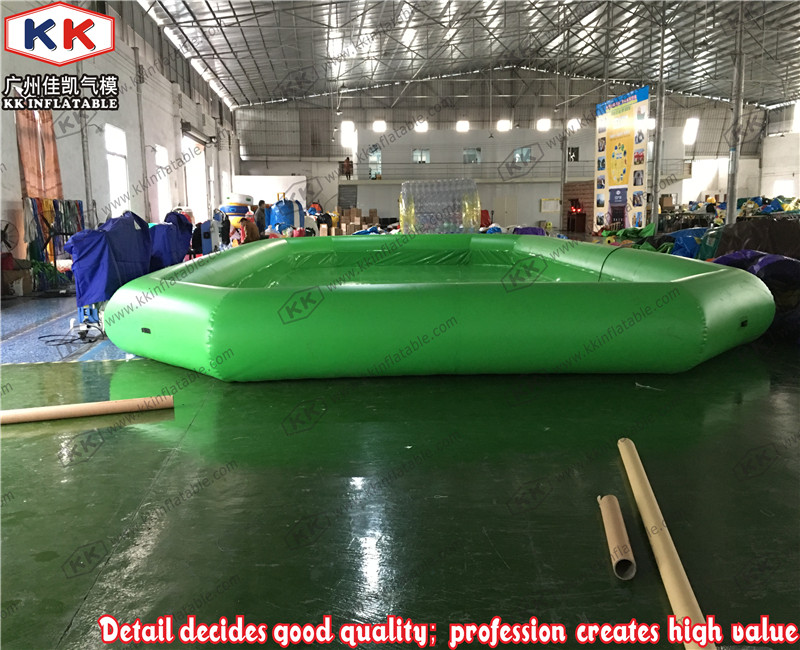 Easy set large outdoor above ground inflatable plastic How big is a competition swimming pool
