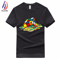Euro Size 100 Cotton 2017 Men S Cube T Shirt Fashion Unisex Streewear The Big Bang