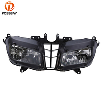 POSSBAY Motorcycle Headlight Housing Cafe Racer For Honda CBR 600RR 2013 2016 Front Head Light Headlamp Assembly Motorcycle