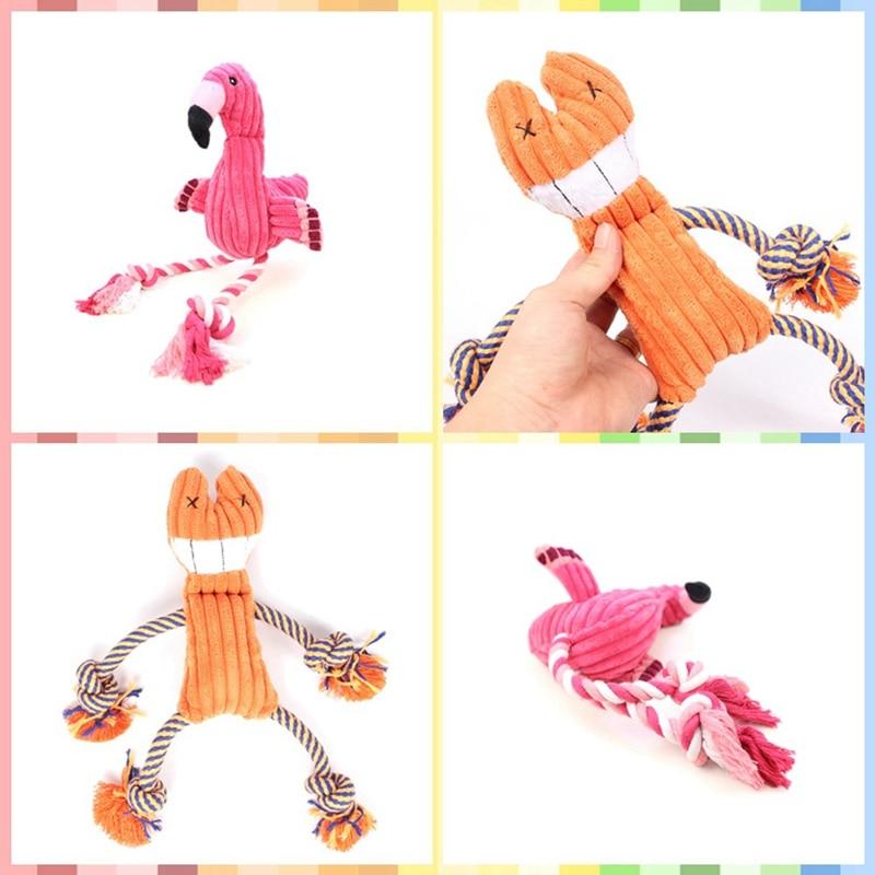 Cotton Rope Bird Pet Bite Sound Plush Toys Pet Products