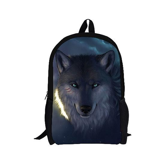 2016 hot sale dog printing backpack for kids,animals school bags for boys fashion children mochila student's shoulder bags free