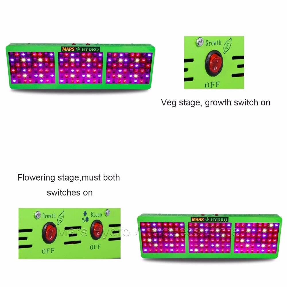 Led Grow Light Mars Hydro Reflector 800W Plant Light Grow Light for - Професионално осветление - Снимка 6