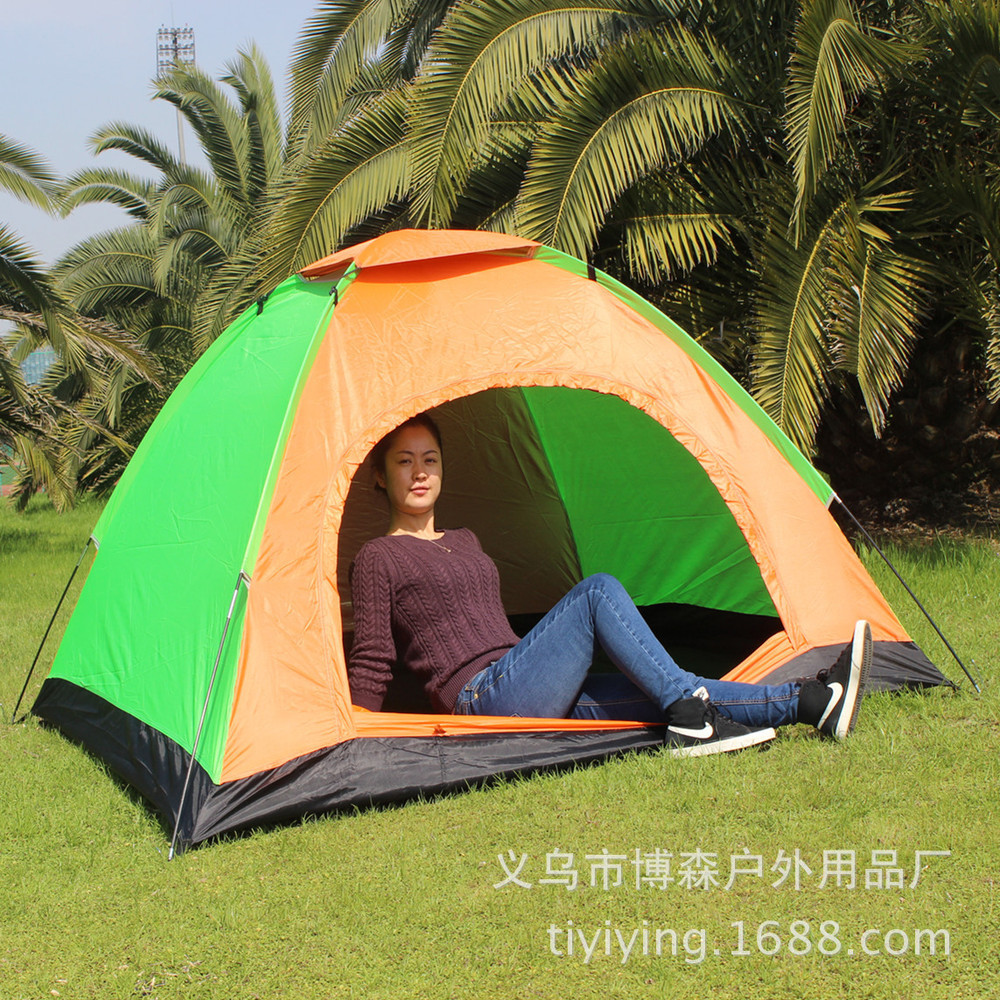 EMS FREE SHIPPING! outdoor tent c&ing tent 3 4 people easy travel vacation weekend outdoor c&ing tents wholesale-in Tents from Sports u0026 Entertainment on ...  sc 1 st  AliExpress.com & EMS FREE SHIPPING! outdoor tent camping tent 3 4 people easy ...