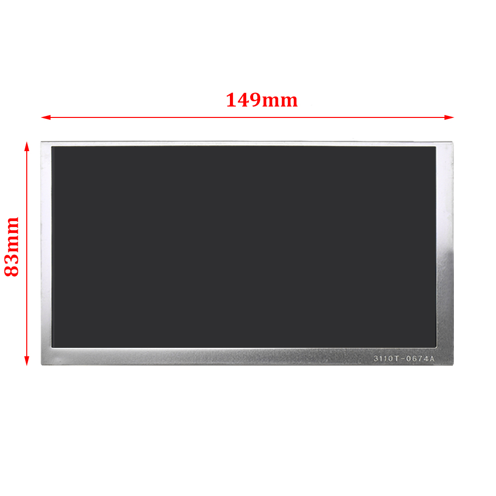For LG Display 6.1 Inch LA061WQ1-TD05 Replacement LCD Screen Display Panel Replacement Digitizer Monitor for chi mei 7inch lw700at9003 lcd screen display panel 800 480 40 pins digitizer monitor replacement