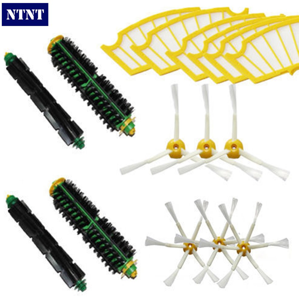 NTNT Free Post New Filters & Brush 3/6 armed For iRobot Roomba 500 Series Vacuum 510 520 530 560 ntnt free post new brush filters 6 armed kit for irobot roomba 500 series 530 550 560 580 510 570