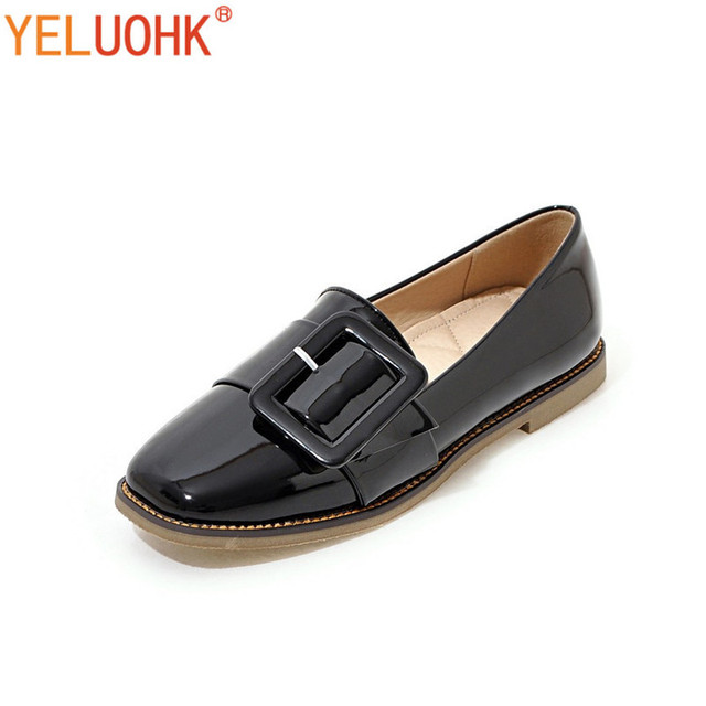 0c3508b6427 32-43 Flat Shoes Women Loafers Soft Leather Moccasins Women Shoes Flats Slip  On Spring Autumn Shoes