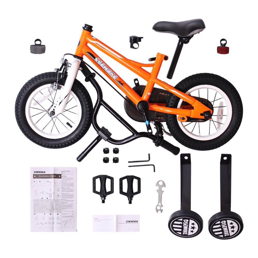 BMX cyclisme enfant vélos enfants vélo fille garçon 12-16 pouces roue d'entraînement - 5