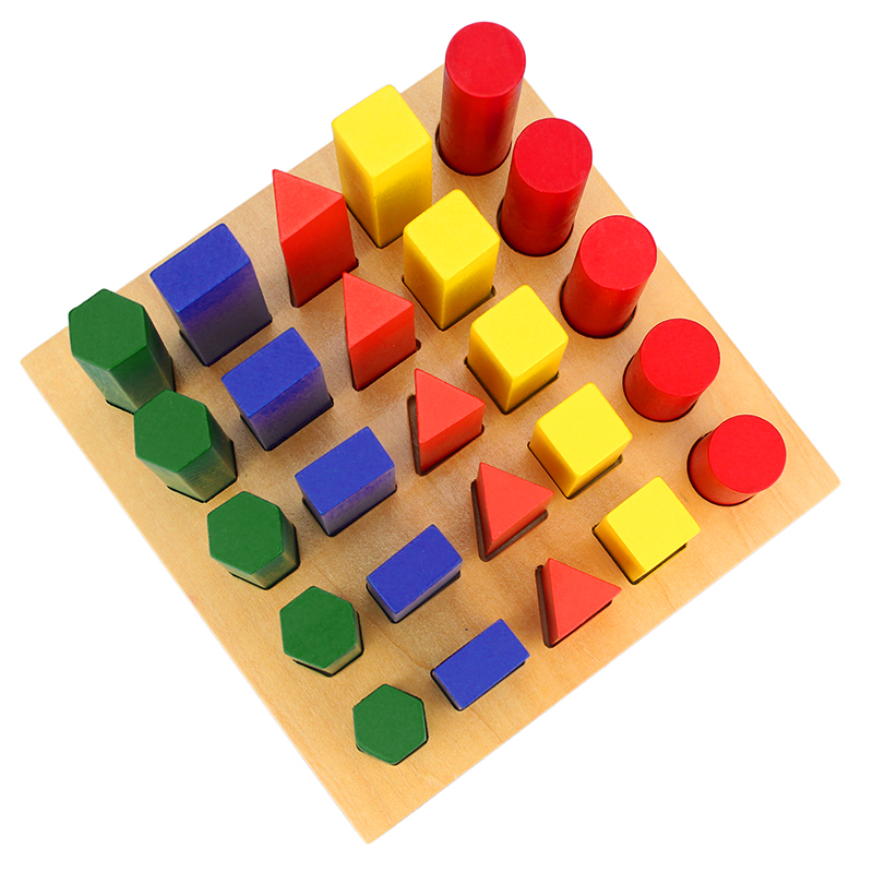 Wooden Montessori Toys Montessori Three Colors Game Learning Educational Toys For Toddlers Juguetes Brinquedos Mi3064h High Quality And Inexpensive Home