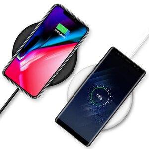 Image 5 - NTONPOWER Qi Caricatore Senza Fili Per iPhone X XR XS 8 più di 10 W Wireless Veloce pad di Ricarica per Samsung Xiaomi huawei
