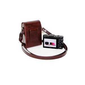 Image 5 - Retro Camera Leather Case Bag for SONY RX100 VII VI V VA IV III II HX90V HX90 HX80 HX99 HX95 HX60V HX50 HX30 HX20 HX10