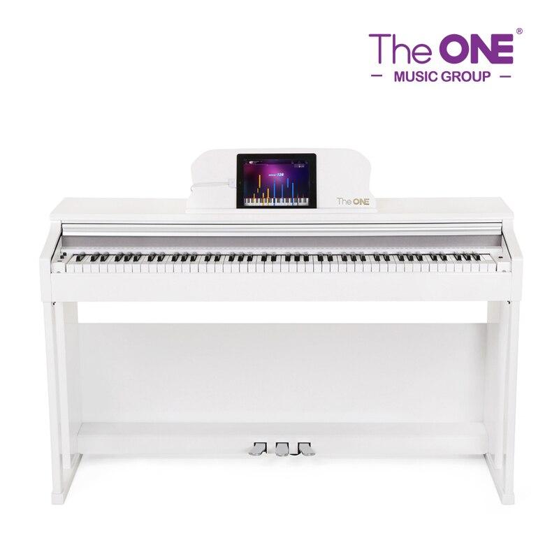 Le seul Piano numérique intelligent 88 touches blanc, noir Piano vertical Instruments de musique éducatifs