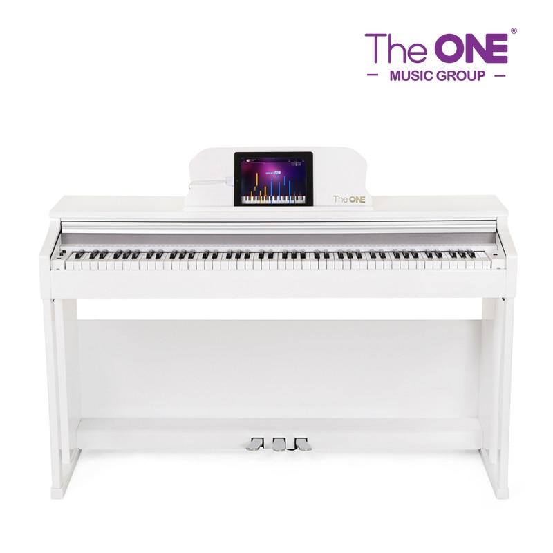 The ONE Smart Digital Piano 88 Key White, Black Upright Piano Educational Music Instruments