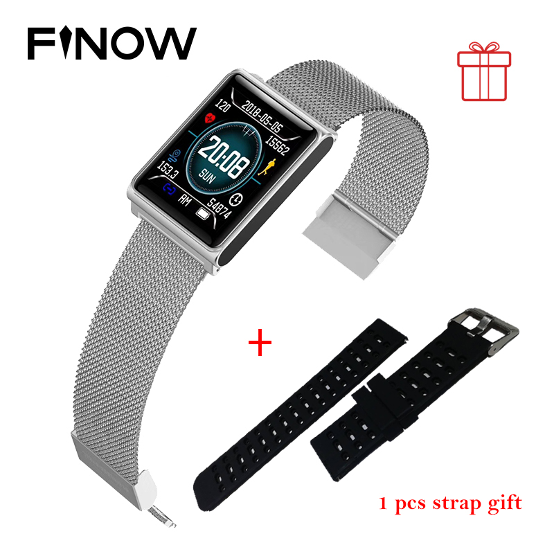 N98 Color Smart Watch Waterproof Smart bracelet Blood Pressure Heart Rate Pedometer Fashion Smart Wristband for Android IOS Gift цена 2017