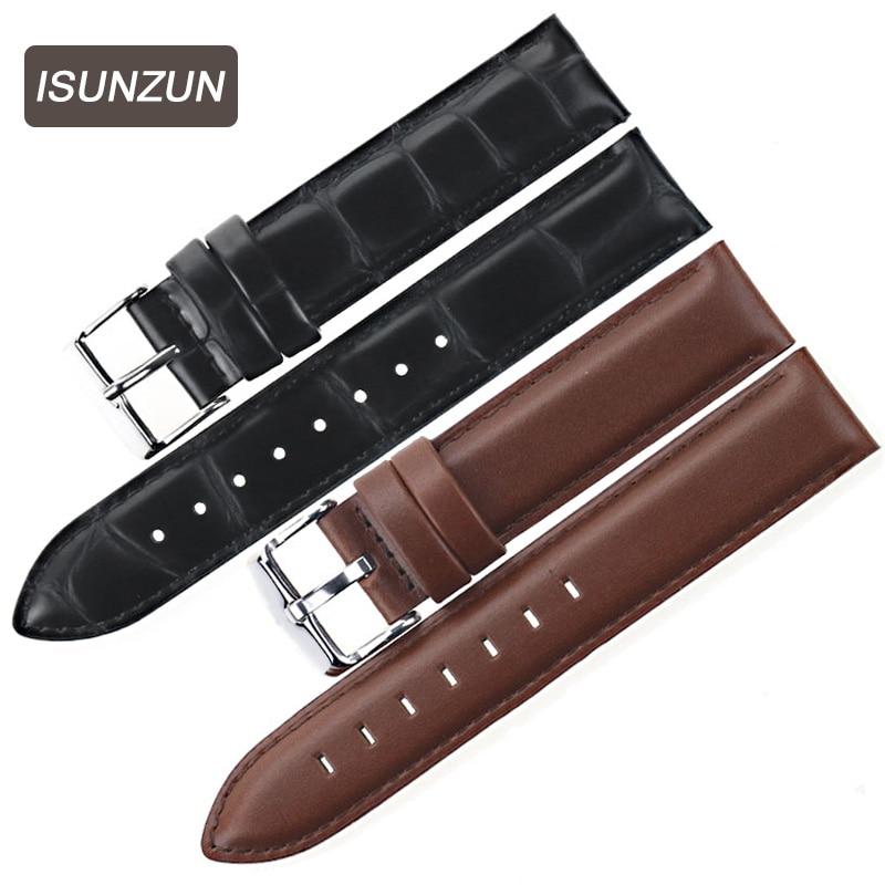 Curea de ceas din piele de vițel standard standard 17 17 18 19 20 mm Benzi de ceas din piele naturală pentru Daniel Wellington DW